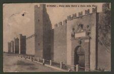 Lazio. VITERBO. Porta della Verità e Cinta delle Mura. Cartolina viaggiata 1916