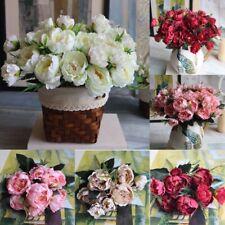 Artifical Flowers Peony Silk flower Home Bridal Hydrangea Wedding Garden Decor