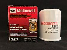 New OEM Genuine Motorcraft Ford Engine Oil Filter F32Z-6731-A FL822 Free Ship