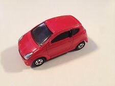 Tomica Tomy Red Subaru R1 1:56 Scale Diecast Model Car