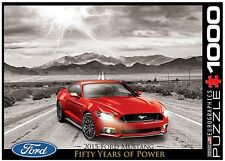 Ford Mustang GT 2015 1000 piece jigsaw puzzle 680mm x 490mm (pz)