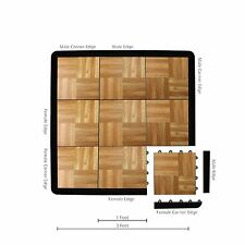 IncStores Tap Dance Set Personal Flooring Tile Kit With Beveled Edges