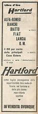 W2025 Ammortizzatori di colpi HARTFORD - Pubblicità del 1925 - Vintage advert