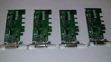 4 x  LENOVO 43C0258 U03T6005 ADD2 DVI-D CARD ADAPTER  Graphic card