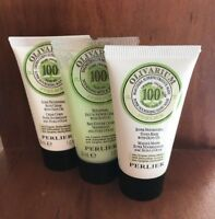 Perlier Olivarium Travel Trio set mini Hand Mask, Body Cream and Bath Cream