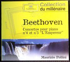 CD Beethoven Concerti 4 et 5 Maurizio Pollini Karl Böhm CD NM & étui M