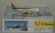 Schabak 3551619 Boeing 737-8K5(WL) TUIfly.com D-ATUE in 1:600 scale