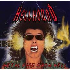 Hellhound-METAL Fire from hell (new*lim.400 BLACK V. * metalucifer * Exciter)
