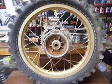 1986 Yamaha yz250 Rear wheel