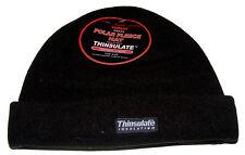 NOIR HOMMES polaire bonnet avec isolation Thinsulate + Doublure thermique