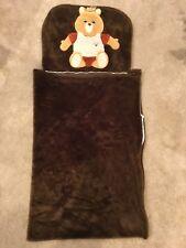 Teddy Ruxpin Teddy Bear Vintage Sleeping Bag Napper Sack 1985