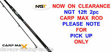 12ft NGT 2pc CARP MAX ROD MATCH FLOAT FEEDER COARSE FISHING PIKE BARBEL STALKER