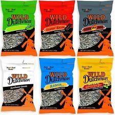 5.5oz/6.5oz Wild Dutchman Sunflower Seeds - Ranch, Bacon, BBQ, Cheeseburger