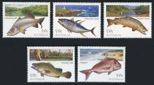 Australia: 2003 Fish (2133-2137) MNH