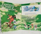 1990's Mountain Dew Keep It Cool With Dew-Store Price Card Original Print Ad