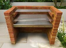 Large Stainless Steel DIY Brick BBQ Kit 91cm x 40cm Grill - Heavy Duty Design