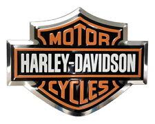 HARLEY-DAVIDSON 3-D ALUMINUM BAR & SHIELD MOLDED DECAL MOTORCYCLE TRUCK EMBLEM