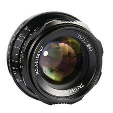 7artisans 35mm F1.2 Large Aperture Lens for Canon EF-M EOS-M M2 M3 M5 M6 M100