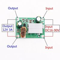 DC 24V 36V 48V 72V To 12V 3A Step Down Power Module Buck Converter Non-isolated