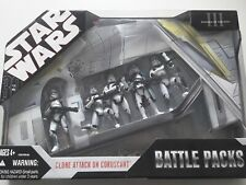 Star Wars Clone Attack on Coruscant Battle Pack figures BNIB Boxed sealed