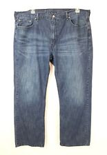 Levis 559 Mens Relaxed Fit Straight Leg Denim Jeans Size 44x30 1/2 (tag 44x32)