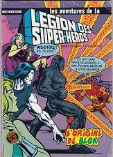 Les aventures de la légion des super-héros- L'origine de Blok