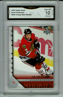 2005 Brent Seabrook Upper Deck Young Guns Rookie Gem Mint 10 #209
