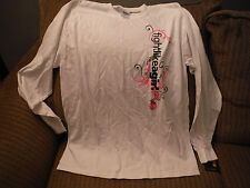 NWT Von Maur LARGE White Long Sleeve T Shirt - FIGHT LIKE A GIRL