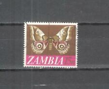 S9306 - ZAMBIA 1968 - MAZZETTA DI 10 FARFALLA - VEDI FOTO