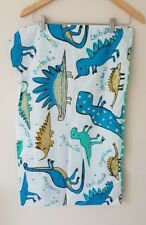 Kids Patterned Dinosaur Single Duvet Cover And Pillowcase <CX6162