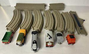 Gullane Thomas Limited Train Track 25 Piece Lot - GRAY W/ Trains D4