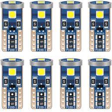 10 PCS T10 CREE LED Light Canbus 6000K White Car Auto Interior Dome Lamp Bulbs