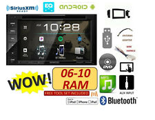 2006-2010 DODGE RAM TOUCHSCREEN BLUETOOTH CD DVD USB DOUBLE DIN KENWOOD STEREO