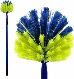 DUSTER FOR REACHING CEILING COBWEB CLEANING LONG HANDLE POLE TELESCOPIC BRUSH UK