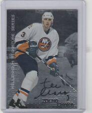 1998 99 BAP Millenium Rookie Autograph Zdeno Chara Bruins Islanders Senators
