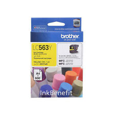 *NEW* Brother LC563 Standard Ink Cartridge (for J2310/J3520/J3720) - Yellow Ink