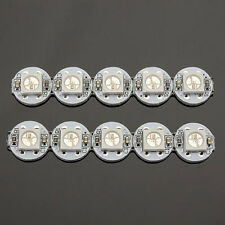 10Pcs Dc 5V 3Mm Smd Rgb Led Chip Board Built-in Lighting Lamp Strip Lights