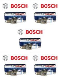 Set of (5) Porsche 911 Bosch Spark Plugs 7992 7992