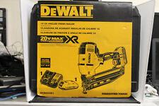 NEW DEWALT DCN660D1 20V MAX CORDLESS 16GA 20 DEG ANGLED FINISH NAILER