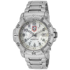 Luminox Modern Mariner 7258 Stainless Steel White Mother of Pearl Dial Watch