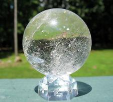 Quartz Sphere / Crystal Ball w Veils
