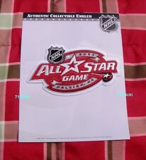 Official 2011 NHL All Star Game Collectible Patch Carolina Hurricanes