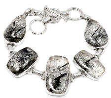 Handmade Black Fine Bracelets
