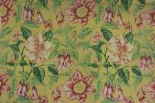 Sanderson curtain upholstery fabric design Clematis 201 floral 3 metres