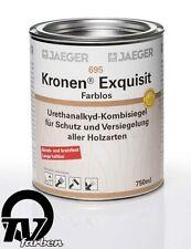 Jaeger 695 Kronen Exquisit glänzend 0,75l Holzsiegel Klarlack