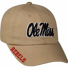 Mississippi Rebels Ole Miss Hat - NWT - NEW - Khaki