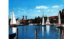 Friedrichshafen am Bodensee , Yachthafen , Ansichtskarte, 1974 gelaufen