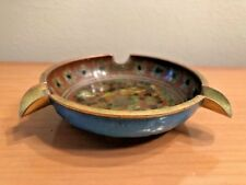 Antique ASHTRAY IN ENAMEL PARTITIONED ART ASIAN CHINESE