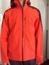9c06d5fd3cb9b1 L.L. Bean TEK O2 3L Storm Jacket Orange FireBrk Medium 500372