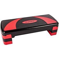 Stepper Steppbrett Aerobic STEPP Brett Heimtrainer Fitness Training Verstellbar